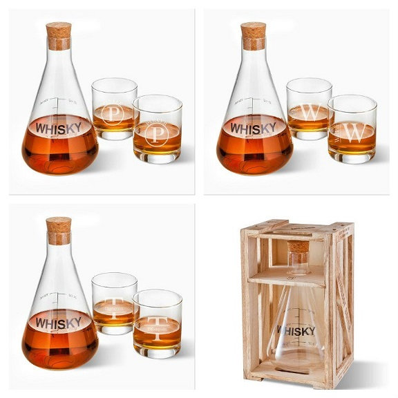 Personalized Glasses With Artland Whisky Decanter GC1602
