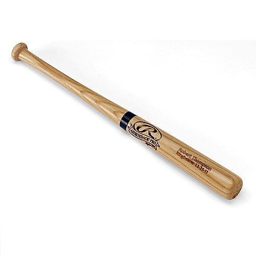 Personalized Rawlings Mini Wood Baseball Bat GC258