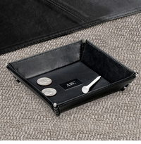 Personalized Leather Valet Stash Tray GC263