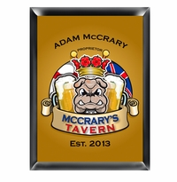 Personalized English Bulldog Pub Sign GC268Bulldog