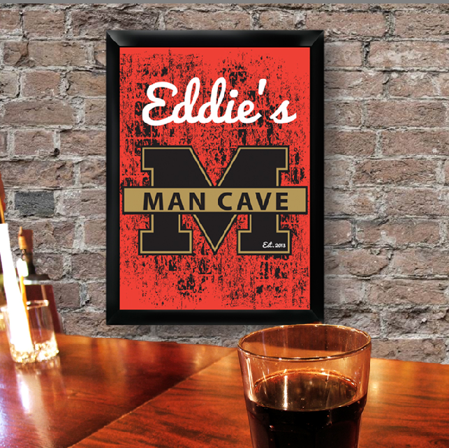 Personalized Home Pub and Man Cave Sign GC268MC