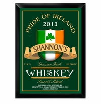 Genuine Pride Of The Irish Whiskey Pub Sign GC268irishwhiskey