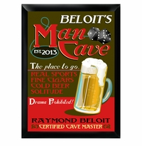 Personalized Man Cave Pub Sign GC268mancave