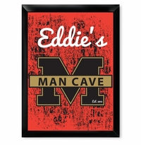 M Stands For Man Cave Stadium Style Pub Sign GC268stadium