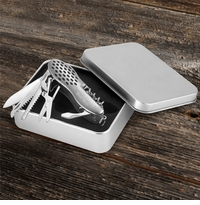 Engraved Klondike Army Knife Tool Set With Tin Box GC276