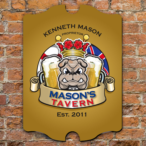Personalized Vintage Tavern Sign GC298