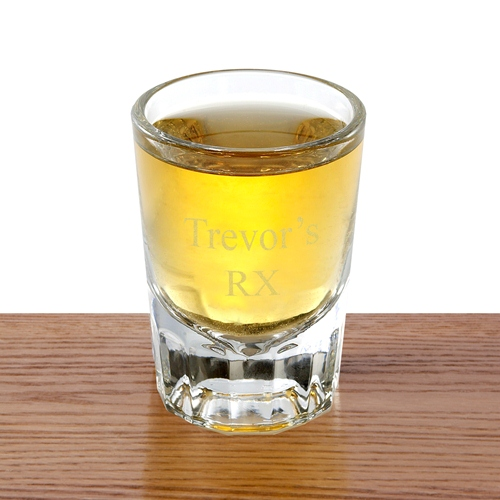 Personalized Whiskey Shot Glass GC407