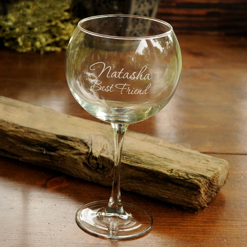 Engraved Connoisseur 19oz Red Wine Goblet GC409