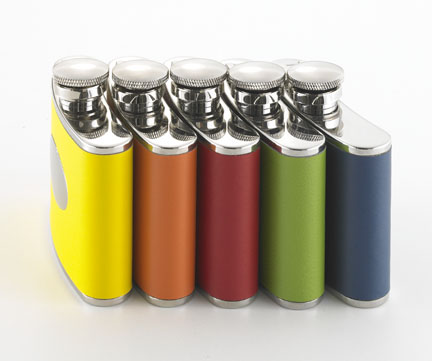 Engraved Color Spectrum Unisex Flask GC418