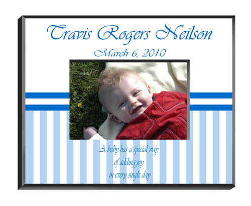 Personalized Baby Boy Picture Frame GC428Babyboy