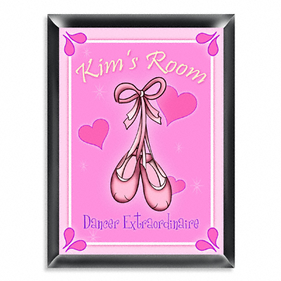 Personalized Girls Room Pink Sign GC438Girl
