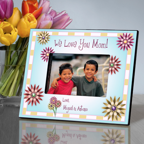 Personalized Mom In Flowers Picture Frame GC468