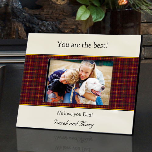 Best Dad Father's Day Picture Frame