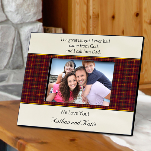 Fathers Day Poem Personalized Picture Frame
