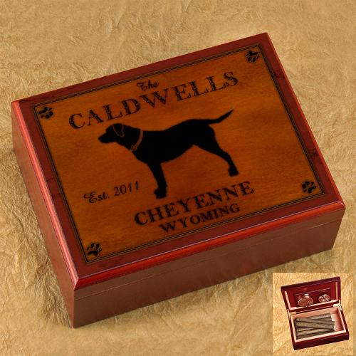 Custom Designed Cabin Rustic Wood Humidor GC478
