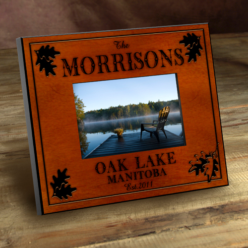 Personalized Lake Cabin Picture Frames GC524