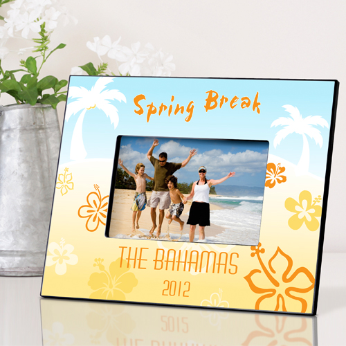 Personalized Tropical Vacation Frame GC537