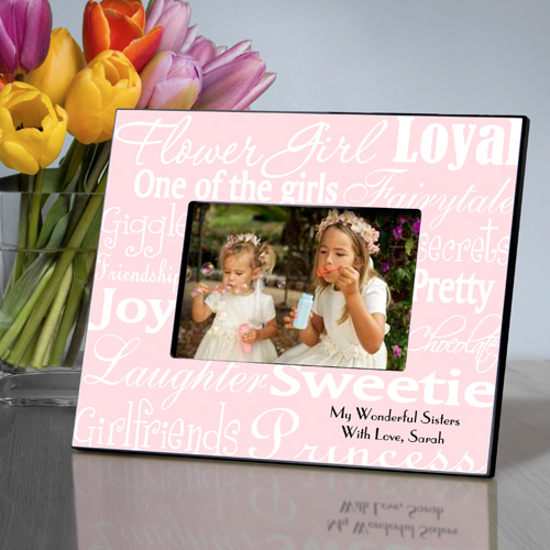Personalized Flower Girl Frames GC542
