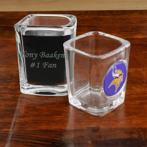 NFL Team Engraved Shot Glass GC648