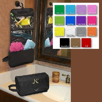 Personalized Hanging Travel Embroidered Toiletry Bag GC672