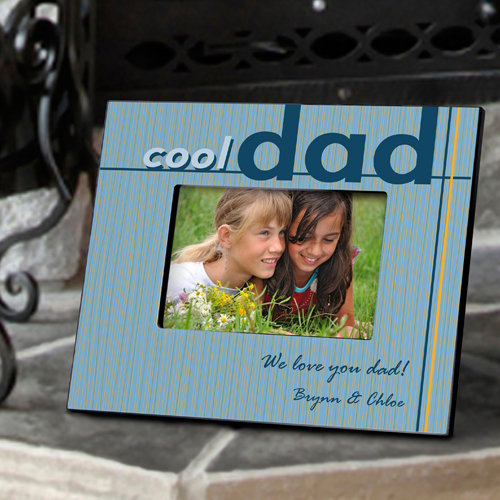 Personalized Coolest Dad Frame GC702