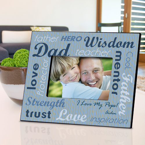 All Star Dad Personalized Picture Frame GC704