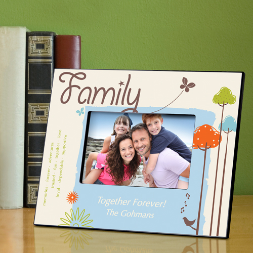 Personalized Natures Song Family Picture Frame GC738family