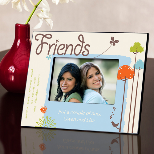 Personalized Natures Song Friends Picture Frame GC738friends
