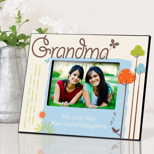 Personalized Nature's Song Grandmother Frame GC738grandma