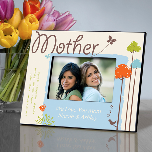 Personalized Nature Song Mothers Day Frame Personalize At