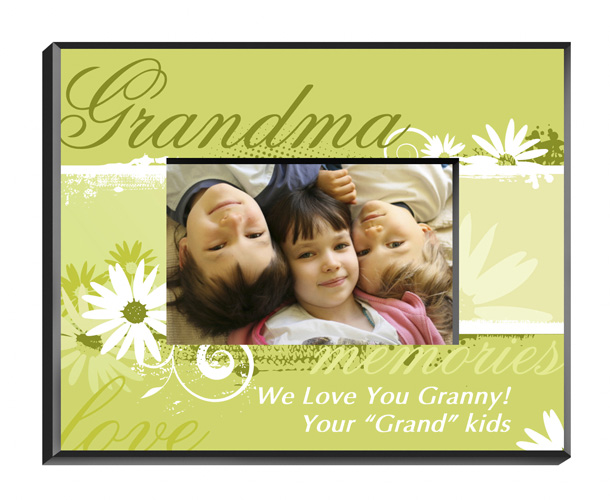 Delicate Daisy Personalized Picture Frame For Grandma