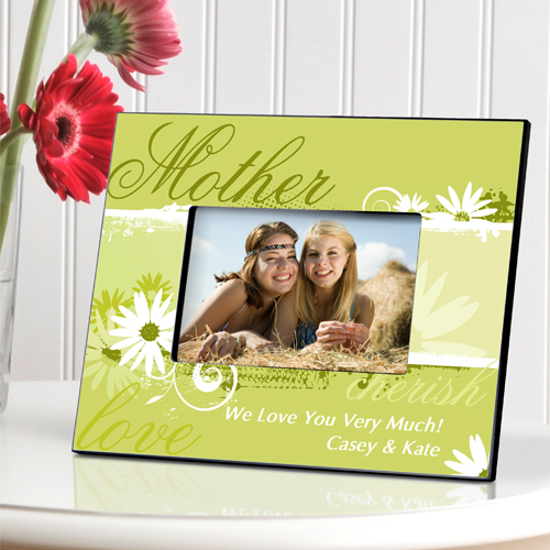 Delicate Daisy Personalized Picture Frame For Mom