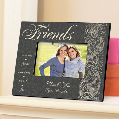 Paisley Personalized Picture Frame For Friends GC742friends