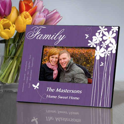 Personalized Family Bloomin Butterfly Picture Frame GC743family