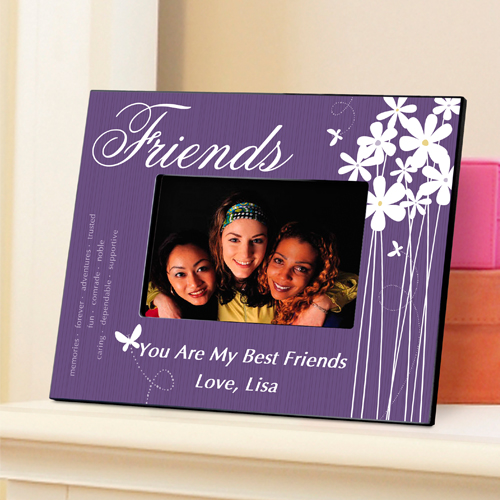 Personalized Friends Bloomin Butterfly Picture Frame GC743friends