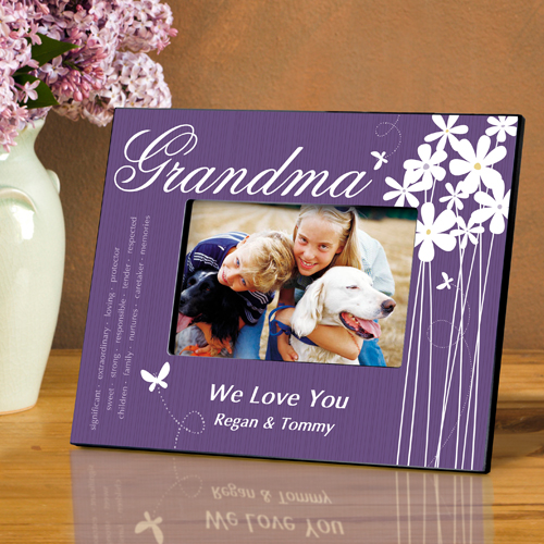 Personalized Hearts and Flowers Frame For Grandma GC743grandma