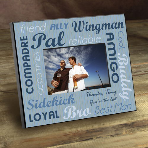 Personalized Wedding Picture Frame For Best Man