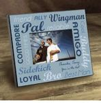 Personalized Wedding Picture Frame For Best Man GC752BM