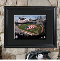 MLB Stadium Print With Wood Frame GC757
