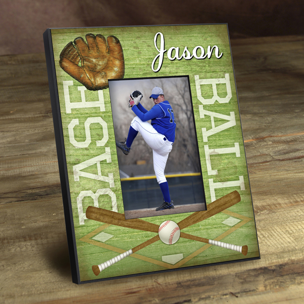 Personalized Baseball Vintage Picture Frame GC762baseball