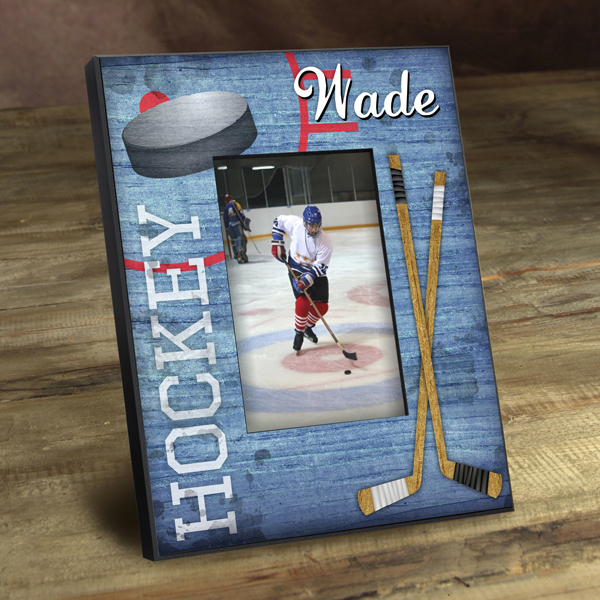 Personalized Hockey Sticks Picture Frame GC762hockey