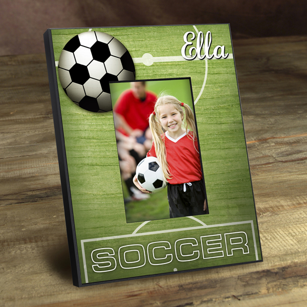 Personalized Soccer Field Picture Frame GC762soccer