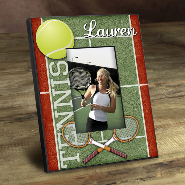 Personalized Tennis Court Picture Frame GC762tennis