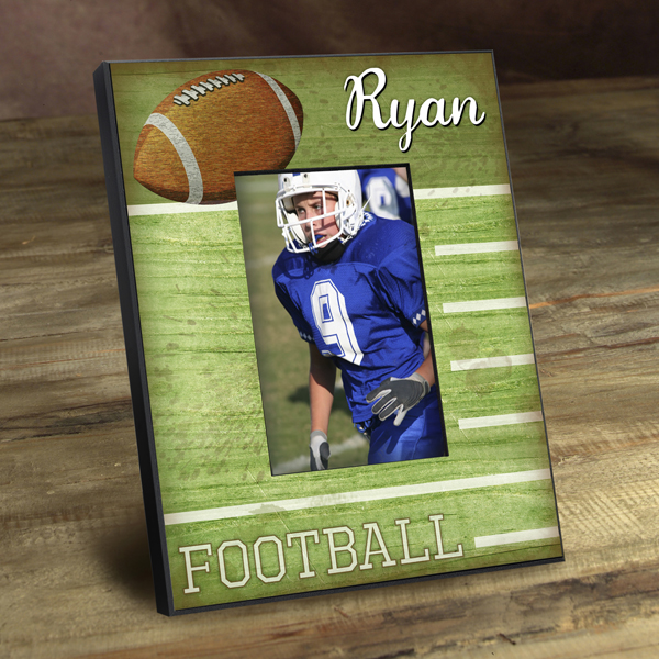 Personalized Football Star Picture Frame GC762touchdown