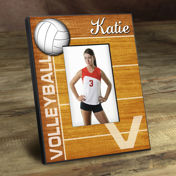Personalized Volleyball Stand Out Picture Frame GC762volleyball
