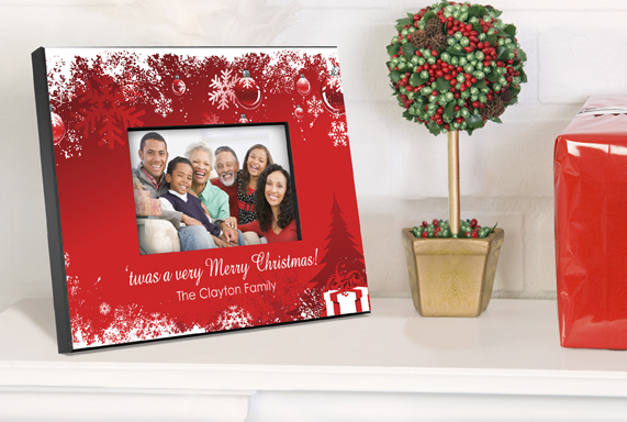 Personalized Holiday Surprises Picture Frame GC763holidaysurprises