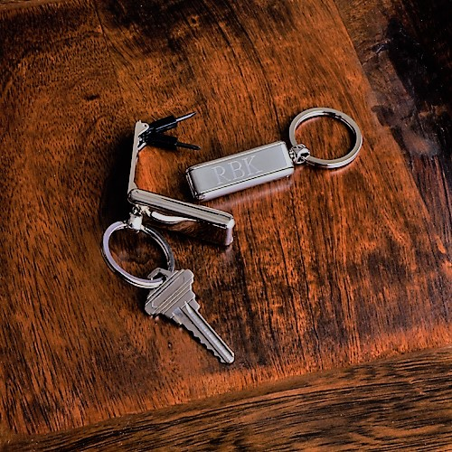 Engraved Mr Fix It Stainless Steel Keychain GC779