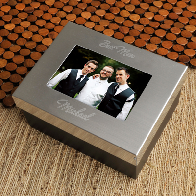 Engraved Groomsman Treasure Box GC780GROOM