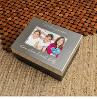 Engraved Keepsake Photo Jewelry Box For Loved One GC780MD