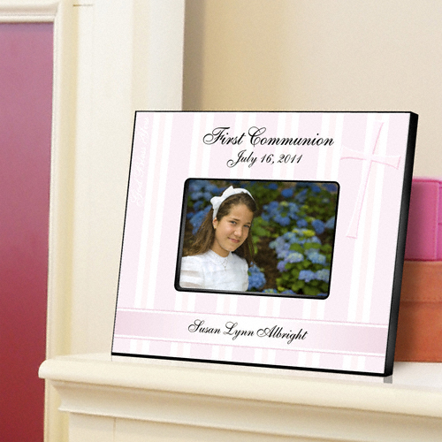 First Communion God Bless The Children Custom Picture Frame